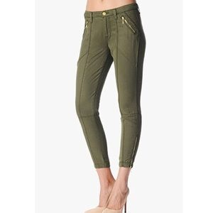 4/$20 H&M Olive Green Skinny Jeans Size 4